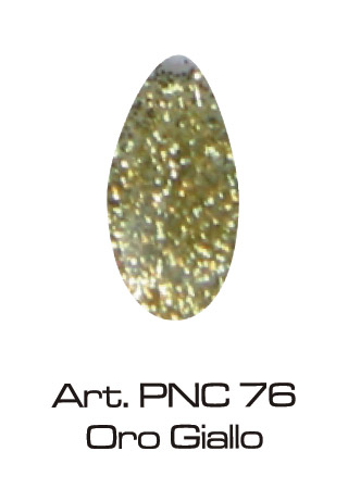 UV GEL COLOR GLITTER - Oro 5ML